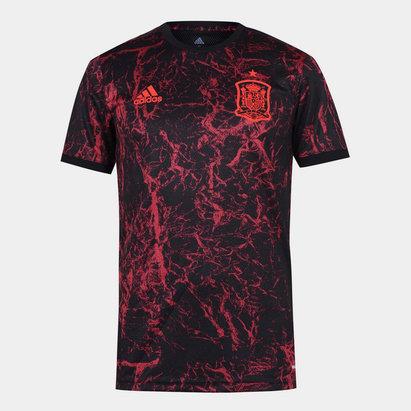 adidas Spain 2020 Pre Match Football Shirt