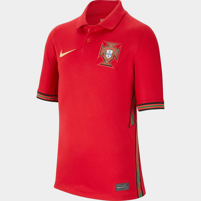 Nike Portugal 2020 Kids Home Football Shirt