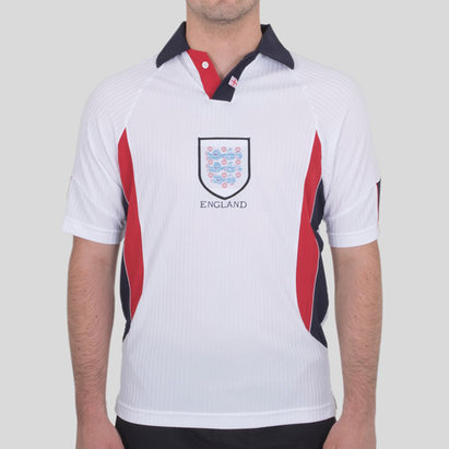 Score Draw England 1998 Home Retro Football Shirt