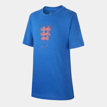 Nike England Crest T-Shirt 2020 Junior