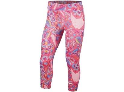 Nike All In One Capri Pants Junior Girls