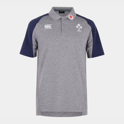 Canterbury Ireland 2019/20 Pique Polo Shirt Mens