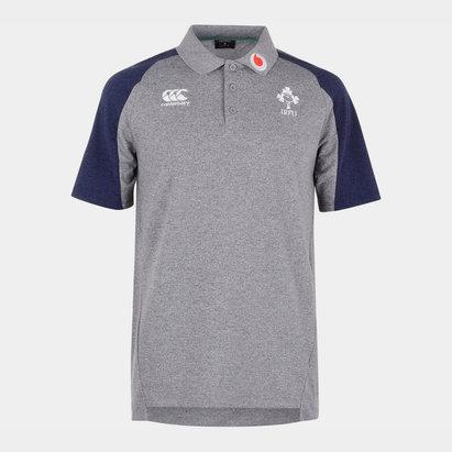 Canterbury Ireland 2019/20 Pique Polo Shirt Mens
