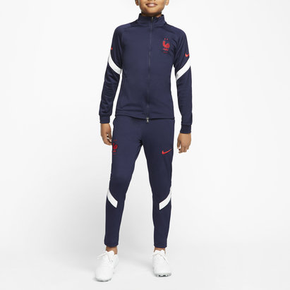Nike France 2020 Kids Football Tracksuit