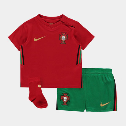 Nike Portugal 2020 Home Baby Football Kit