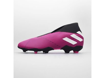 adidas Nemeziz 19.3 Unisex Childrens Laceless FG Football Boots