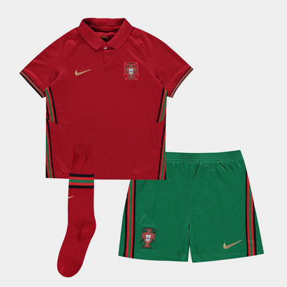 Nike Portugal 2020 Home Mini Kids Football Kit