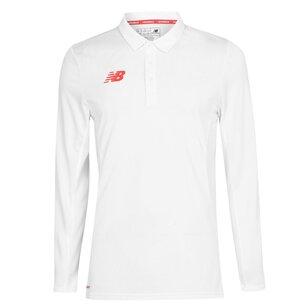New Balance Player Long Sleeve Mens Cricket Shirt