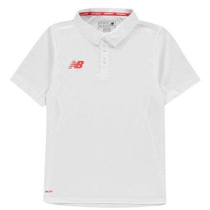 New Balance Players Junior Cricket Shirt