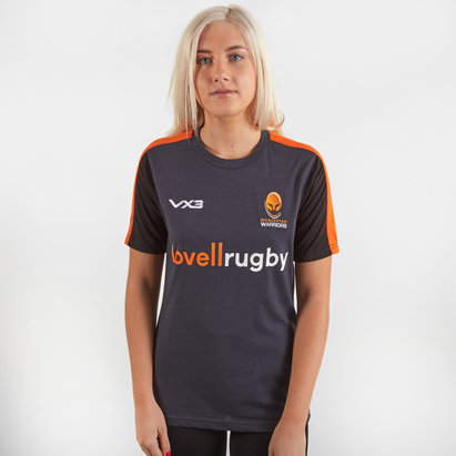 VX3 Worcester Warriors 2019/20 Ladies Cotton Rugby Training T-Shirt
