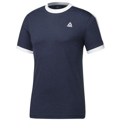 Reebok Ringer Graphic T Shirt Mens