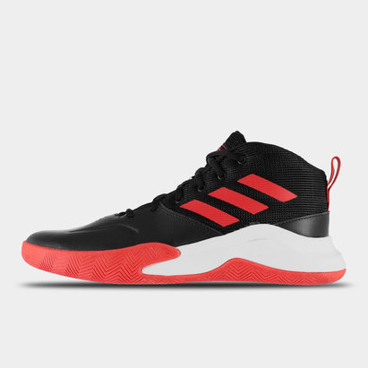 adidas Own The Game Junior Boys Basketball Trainers