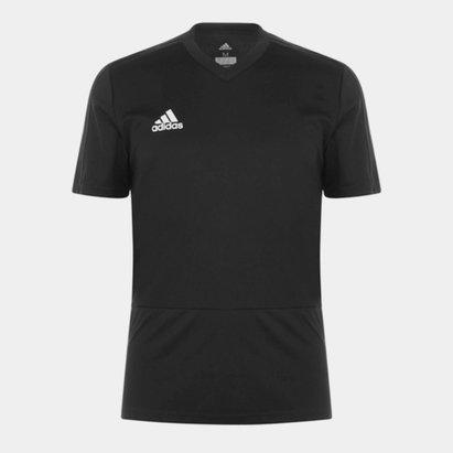 adidas Climacool V Neck T Shirt Mens
