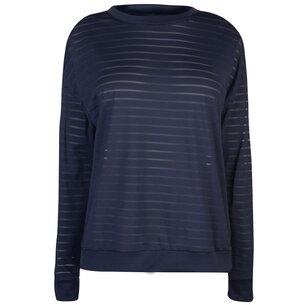 Reebok Mesh Long Sleeve T Shirt