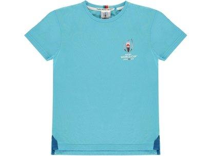Team Rugby 2019 Logo T Shirt Boys