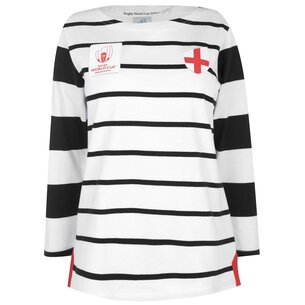 Team Rugby 2019 Long Sleeve T Shirt Ladies