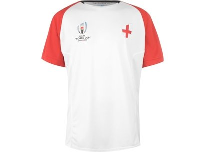 Team Rugby 2019 Team Poly T Shirt Mens