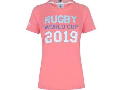 Team Rugby 2019 Logo T Shirt Ladies