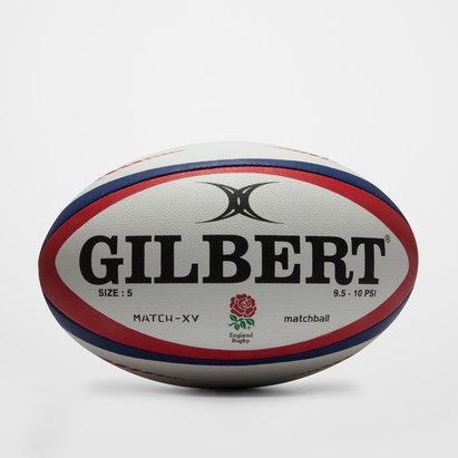 Gilbert England Match XV Rugby Ball