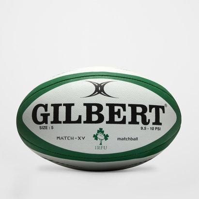 Gilbert Ireland Match XV Rugby Ball