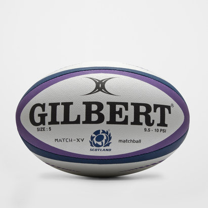 Gilbert Scotland Match XV Rugby Ball