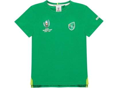 Team Rugby 2019 Team Cotton T Shirt Junior Boys