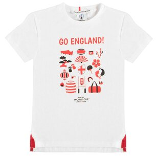 Team Rugby 2019 Go Team T Shirt Junior Boys