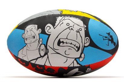 Gilbert Randoms Supporter Rugby Ball - Monsters