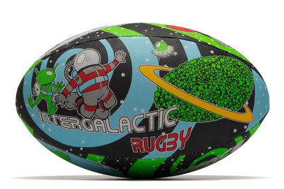 Gilbert Randoms Supporter Rugby Ball - Space Wham