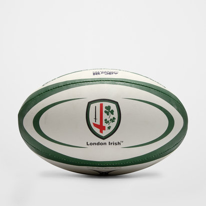 Gilbert London Irish Official Replica Rugby Ball
