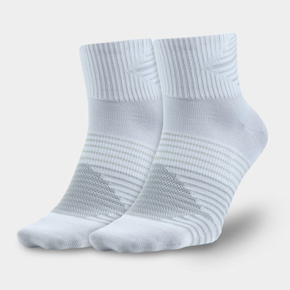 Nike 2 Pack Dri-FIT Lightweight Quarter Training Socks