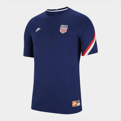 Nike USA Pre Match T Shirt 2020 Mens