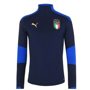 Puma Italy 2020 1/4 Zip Football Training Jacket
