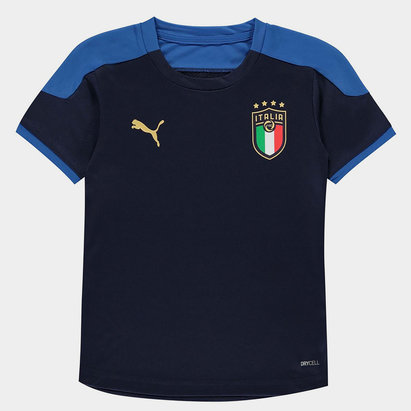 Puma Italy 2020 Kids Football Training Shirt