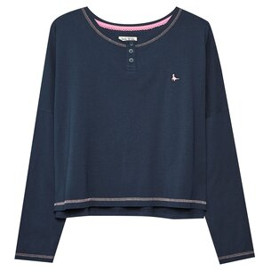 Jack Wills Capely Lounge Henley Top