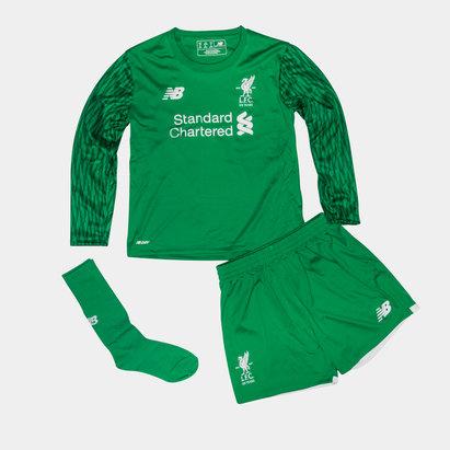 New Balance Liverpool FC 16/17 Home Infant Goalkeeper Football Kit