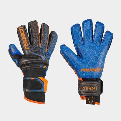 Reusch Attrakt G3 Fusion Ortho-Tec Goaliator Goalkeeper Gloves Junior