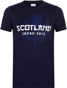 Team Rugby 2019 Scotland T Shirt Mens