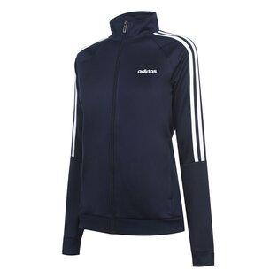 adidas 3 Stripe Track Jacket Ladies