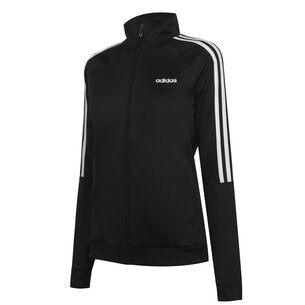 adidas 3 Stripe Track Jacket Ladies