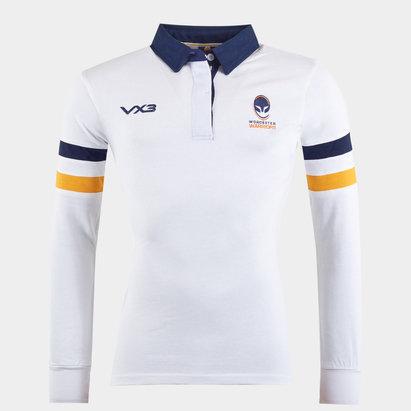 Worcester Warriors Ladies Cotton L/S Shirt