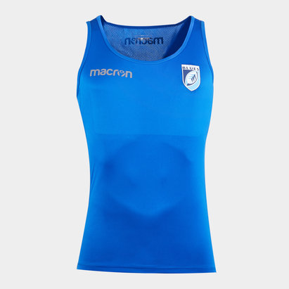 Macron Cardiff Blues 2019/20 Players Rugby Training Singlet