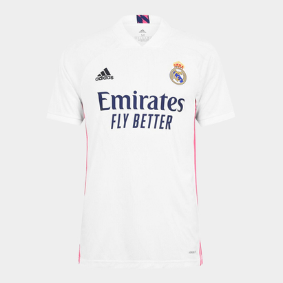 adidas Real Madrid Home Shirt 20/21 Mens