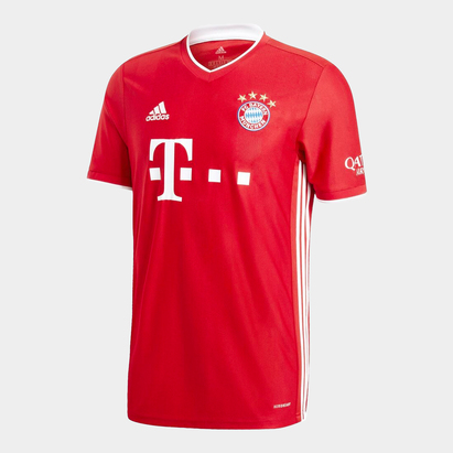 adidas Bayern Munich Home Shirt 20/21 Mens
