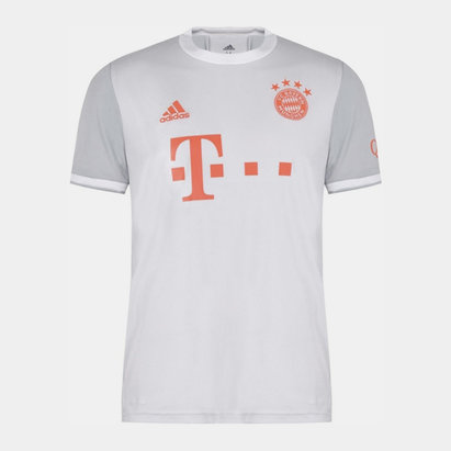 adidas Bayern Munich Away Shirt 20/21 Mens