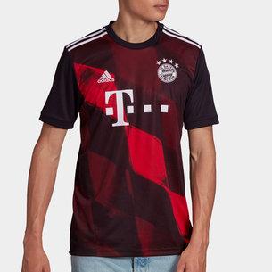 adidas Bayern Munich Third Shirt 20/21 Mens