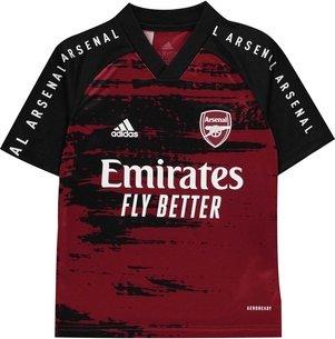 adidas Arsenal Pre Match Shirt 20/21 Kids