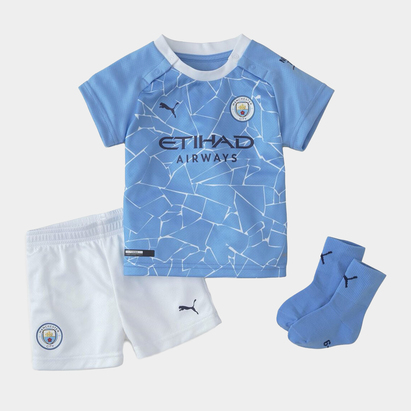 Puma Manchester City Home Baby Kit 20/21