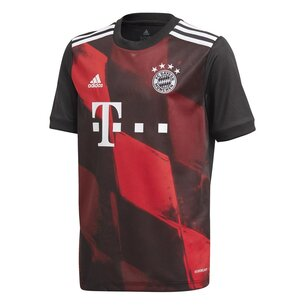 adidas Bayern Munich Third Shirt 20/21 Kids