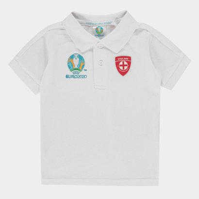 UEFA Euro 2020 England Polo Shirt Infants